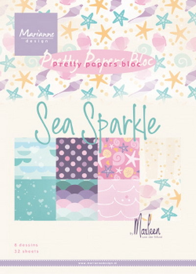 Papers Bloc: Sea Sparkle by Marleen