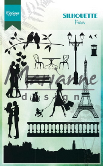 Clear Stamp: Silhouette Paris