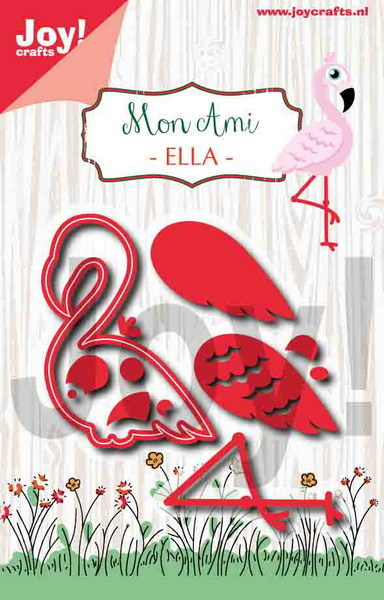 Joy Crafts: Mon Ami Flamingo Ella