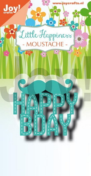 Joy Crafts: LH moustache