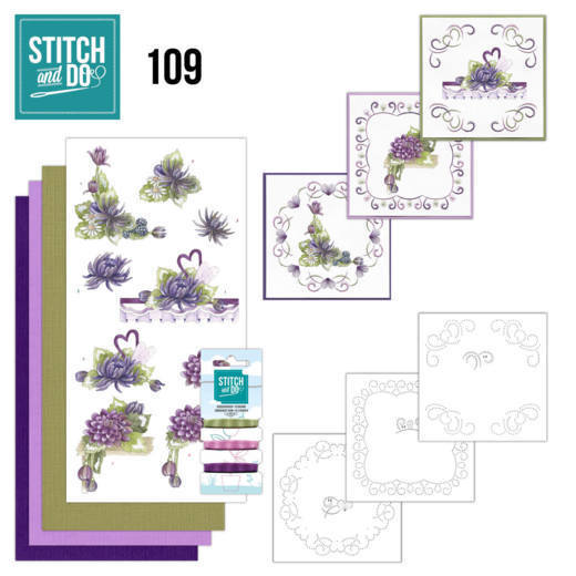 Stitch and do 109: Summer Dahlia's