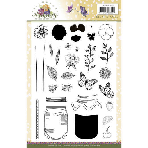 Blooming Summer: Clearstamp