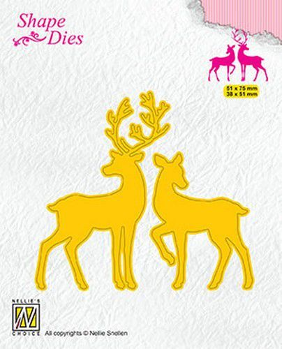 Shape Dies: Deer