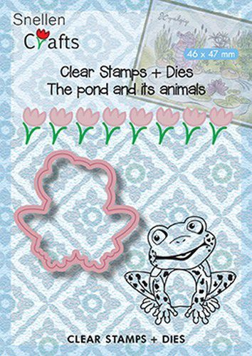 Clear Stamps + Dies: Frog