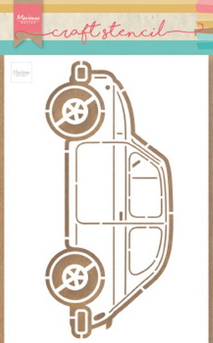 Craft Stencil: car