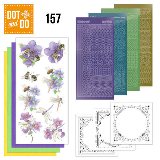 Dot & Do 157: bees and dragonflies