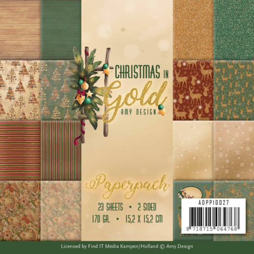 Christmas in Gold: Paperpack