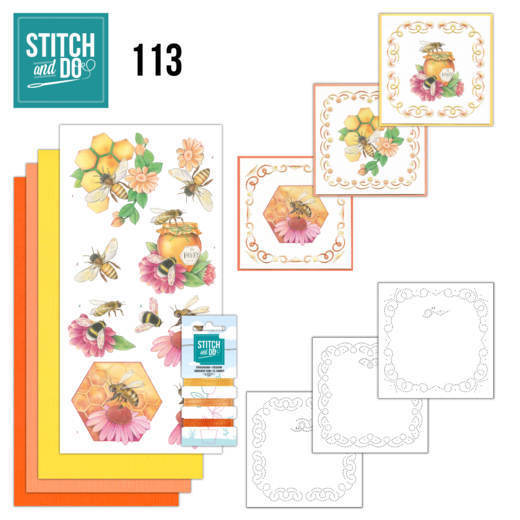 Stitch and do 113: Honey Bees