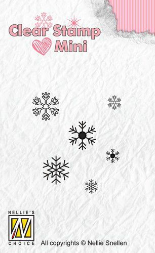 Clearstamp Mini: Snowflakes