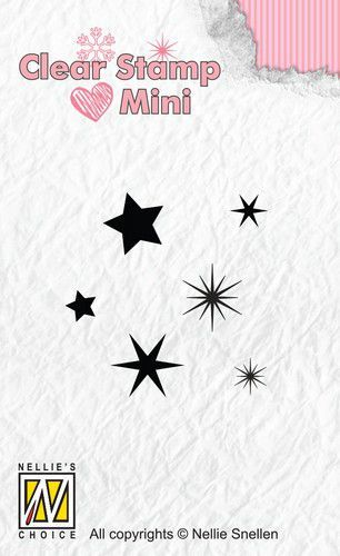 Clearstamp Mini: Stars