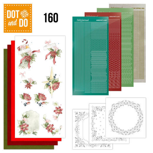 Dot & Do 160: Red Christmas Ornaments