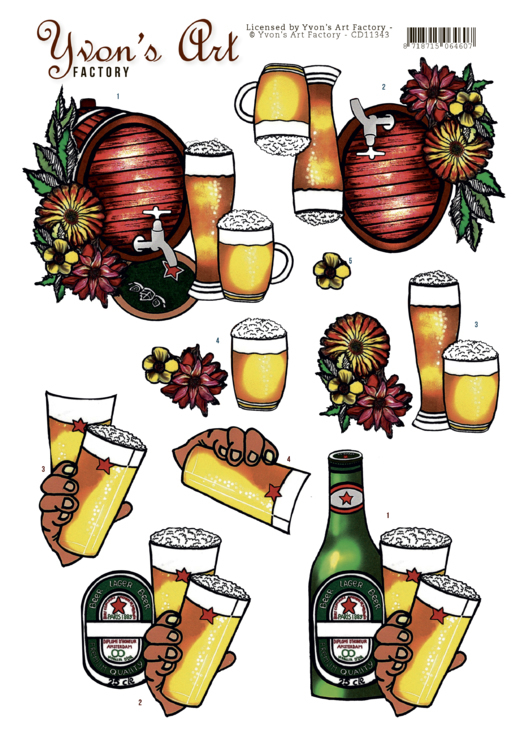 Yvon's Art: Beer