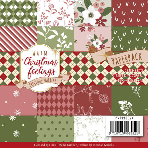 Warm Christmas feelings: Paperpack