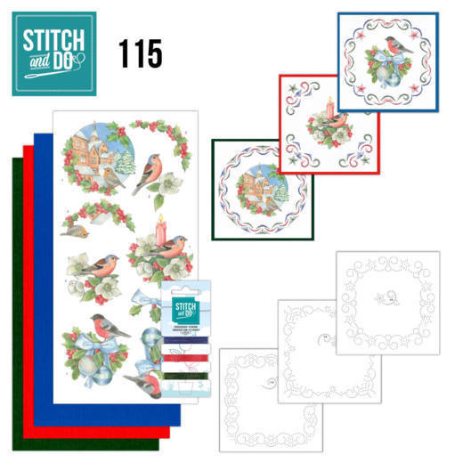 Stitch and od 115: Christmas Birds