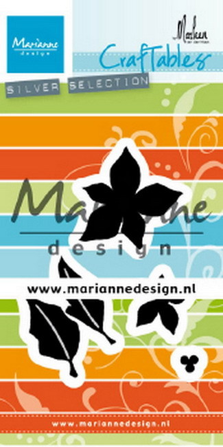 Craftables: poinsettia by Marleen