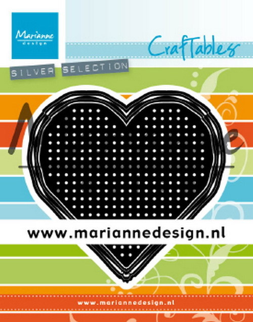 Craftables: cross stitch heart