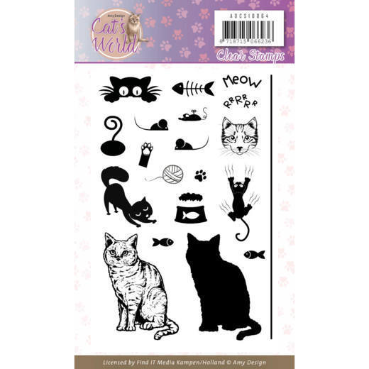Cat's World: Clearstamp