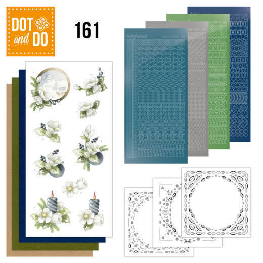 Dot & Do 161: Amaryllis and blueberries