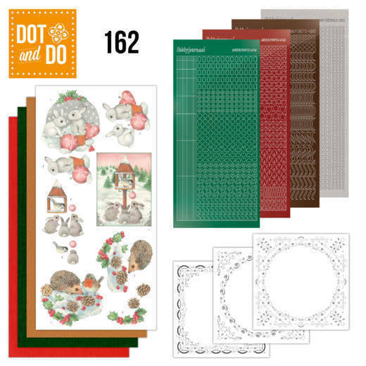 Dot & Do 162: Hedgehog and rabbits