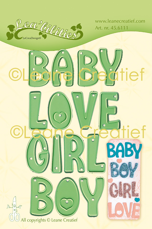 Le Crea design: Baby Boy Girl Love