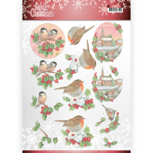 Lovely Christmas: Birds