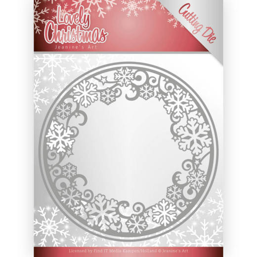 Lovely Christmas: Lovely Circle Frame