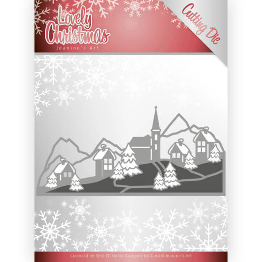 Lovely Christmas: Lovely Christmas landscape
