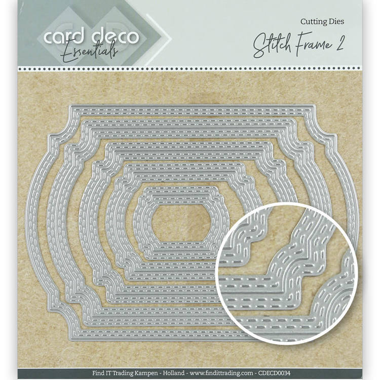 Card Deco Essentials: Stitch frame 2
