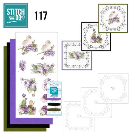 Stitch and do 117: Chrysanthemum