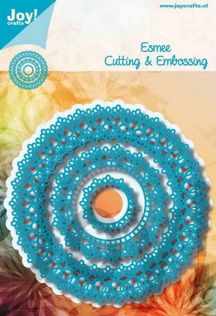 Joy Crafts! Esmee doily rond