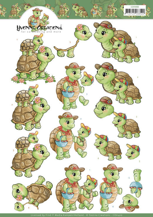 Yvonne Creations - Turtle Mommy