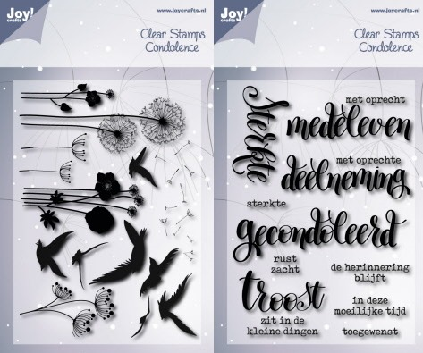 Clearstamps condoleance set