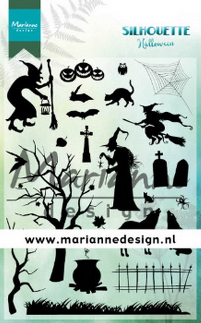 Clearstamp: Silhouette Halloween