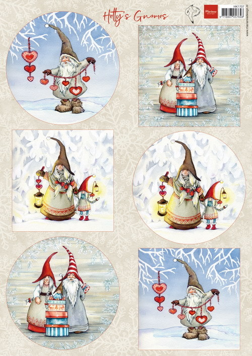 Knipvel: Hetty's winter gnomes