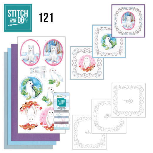 Stitch and Do 121 - Winter Friends