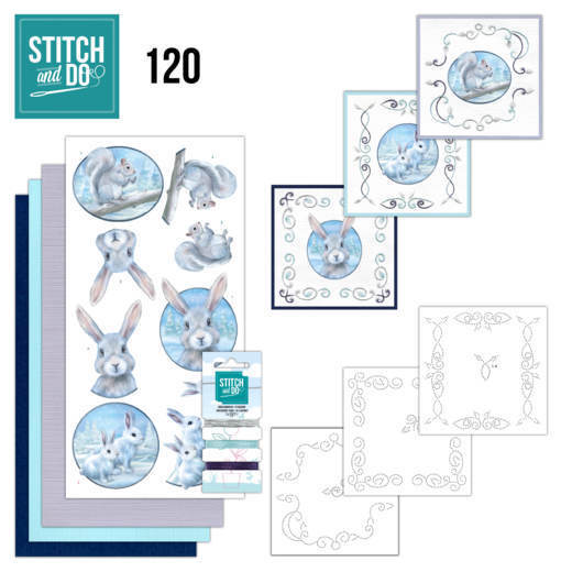 Stitch and Do 120 Artic Friends