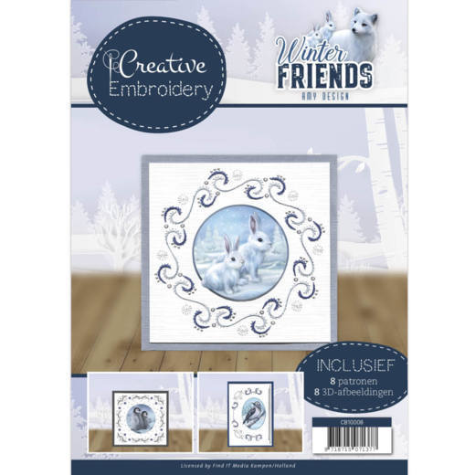 Creative Embroidery 8 - Amy Design - Winter Friends