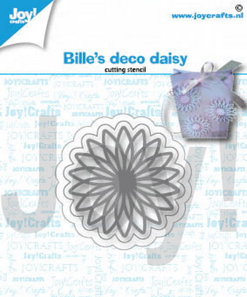 Joy Crafts! Bille's deco daisy