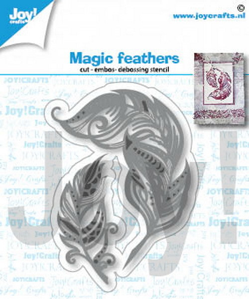 Joy Crafts! Magic feathers