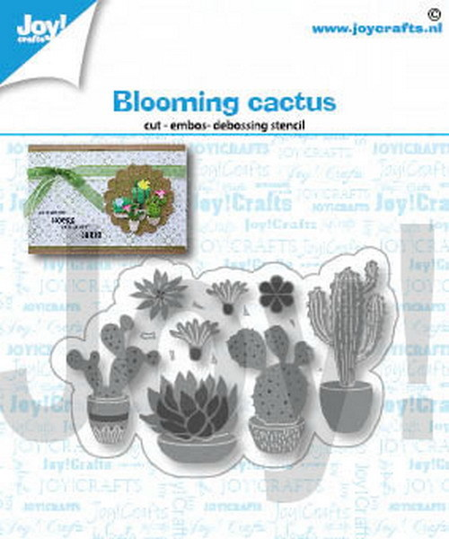Joy Crafts! Blooming cactus
