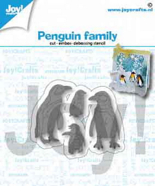 Joy Crafts! Pinguin familie