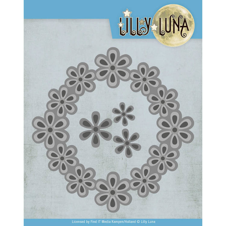 Lilly Luna: Pop-Up Bloemenframe