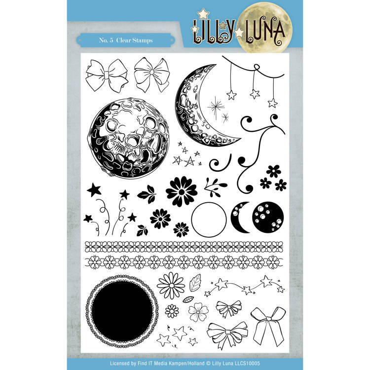 Lilly Luna:Clearstamp