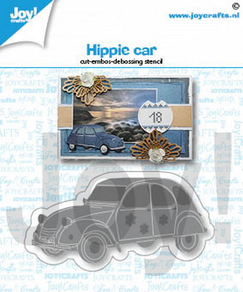 Joy Crafts! Hippie Car