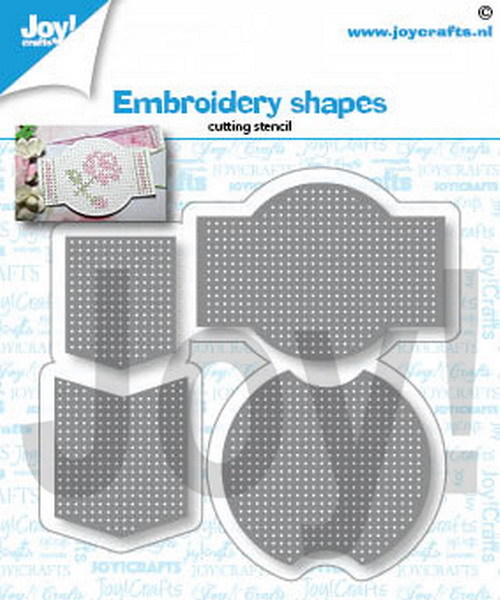 Joy Crafts! Embroidery Shapes