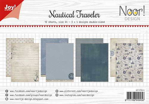Joy Crafts! papierblok Nautical Traveler