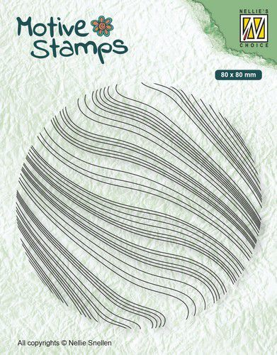 Nellie's choiche motive stamps: Waves