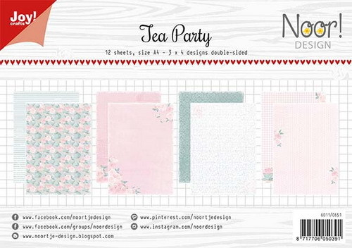 Joy Crafts: Tea Party