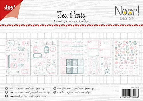 Joy Crafts: Tea Party labelvellen