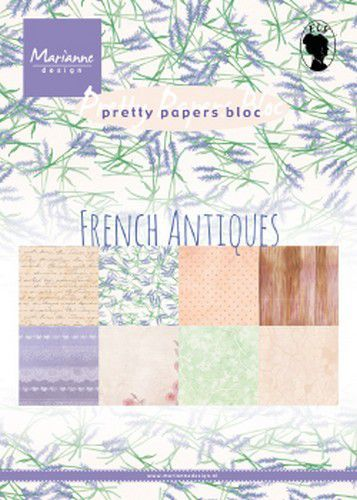 Pretty Paper Bloc: French Antiwues